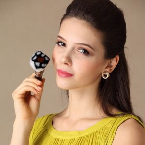 Special Design Powder Makeup Brush with Nylon Hair pictures & photos