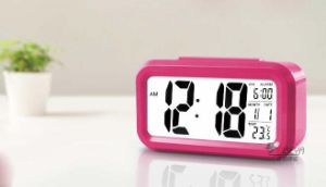 Wj-Large Digital LED Display Alarm Clock with Temperature Desk/Table Clock pictures & photos