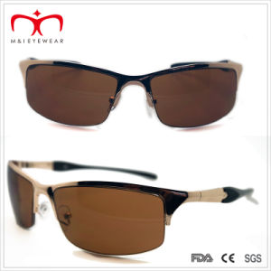 Men′s Metal Sports Sunglasses with Spring Temple (WSP-7) pictures & photos