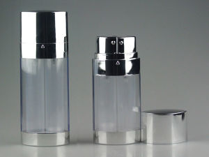 Sliver Cosmetic Packaging Acrylic Airless Lotion Bottle (PPC-AAB-014) pictures & photos