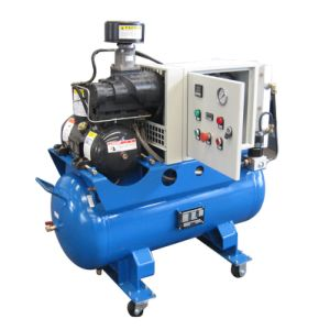 All in One Compressor with Refrigerated Dryer&Air Receiver (SCR7.5C) pictures & photos