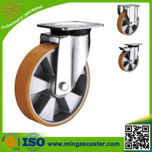 Polyurethane Heavy Duty Caster Wheels pictures & photos