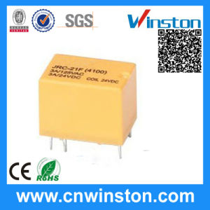 Jrc-21f Miniature PCB Mounting Relay with CE pictures & photos