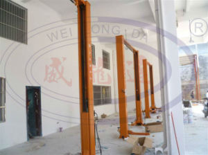 Two Post Auto Car Lift with Safety Device pictures & photos
