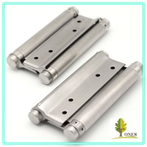 Stainless Steel 201 Spring Hinge/ 6-Inch (1.5mm) Double Action Spring Hinge
