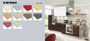 Foshan Made Kitchen Furniture Set (with solid color and wooden grain) pictures & photos