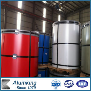 Coustomized 1000 Series Color Coated/Prepainted Aluminium Coil with PVDF pictures & photos