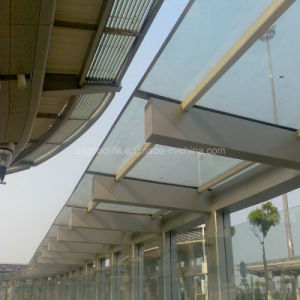 12mm Bronze Polycarbonate Solid Sheet for Roofing Project in Hong Kong pictures & photos