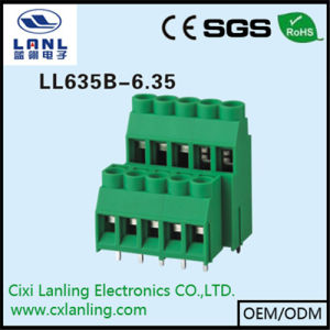 Ll635b-6.35 PCB Screw Terminal Blocks