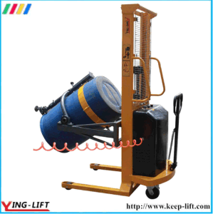 180 Degree Rotation Pneumatic Drum Lifter Rotator Da300 pictures & photos