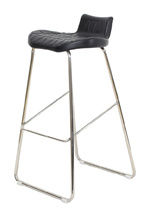 Low Back Hard PU Counter Stool pictures & photos