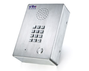 Chemcial Plant Telephone Video Intercom Basic SIP Phone (KNZD-03) Kntech pictures & photos