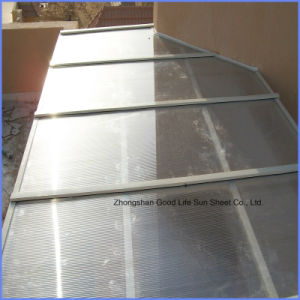 3mm/4mm/6mm/8mm/10mm 10 Years Warranty 2 Layers UV Coat Polycarbonate Sheet pictures & photos
