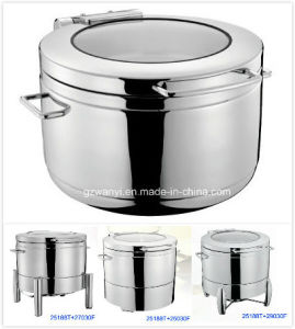 Round Induction Soup Station Set with 11L Bain Marie (25188T) pictures & photos