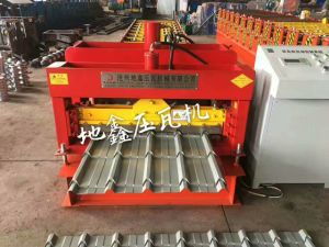 2017 Dx Glazed Tile Roof Panel Sheet Roll Forming Machine pictures & photos