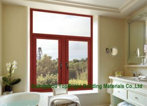 60series Aluminium Composite Wood Windows with Germany Hardware (CL-W2002) pictures & photos