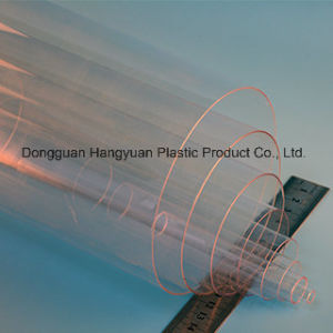 Transparent Plastic Pipe for Packaging pictures & photos