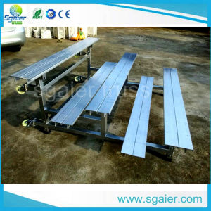 Indoor Telescopic Bleacher System / Retractable Seating Solution pictures & photos