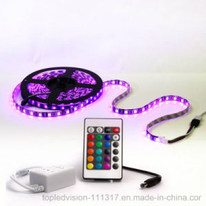 High Quality Colourful SMD5050 RGB Flexible LED Strip 30LEDs/M with Ce, RoHS pictures & photos