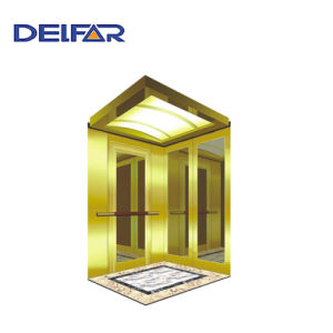 Safe Ti-Gold Passenger Elevator with Economic Price pictures & photos