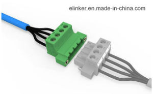 Electric Terminal Block Connector with Flange