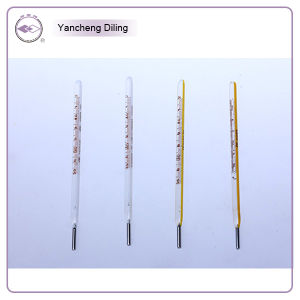 Oral Thermometer, High Quality Glass Mercury Clinical Thermometers, Rectal Use pictures & photos