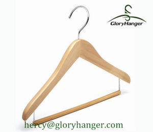 High Quality Wooden Children Hanger for Clothes Shop pictures & photos