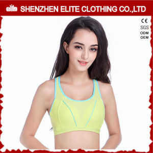 Women Dri Fit Plain Pink Sports Bra Lycra pictures & photos