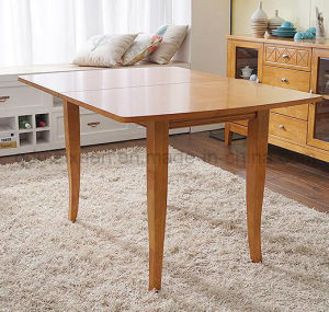 Solid Wooden Dining Table Living Room Furniture (M-X2924) pictures & photos