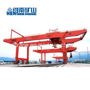 40 Ton Double Girder Gantry Mobile Container Crane pictures & photos