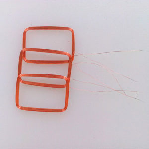 Custom Enameled Copper Wire RFID Air Coils pictures & photos