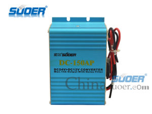 Car Power Transformer DC 24V to 12V Electronic Transformer with Good Quality (DC-150AP) pictures & photos
