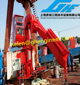 Customized Folding Boom Marine Crane with Compact Structure pictures & photos