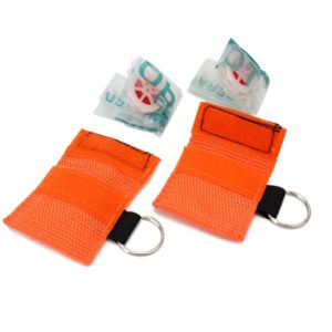 2016 Hot Selling CPR Mask with Keychains for Gifts Promotion