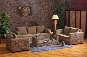 Modern Rattan Furniture of Living Room Sofa
