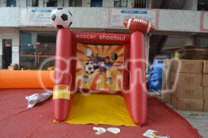 Hot Sale Inflatable Football Goal Gate Sports Game pictures & photos