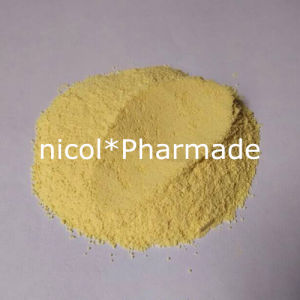99% Dark Yellow Trenbolone Acetate Anabolic Steroid Raw Powder pictures & photos