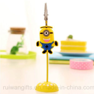Wholesale 3D PVC Minion Name Card Holder pictures & photos