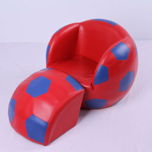 Ladybug Children Leather Sofa and Ottoman/Children Furniture/Kids Chair (SF-127) pictures & photos