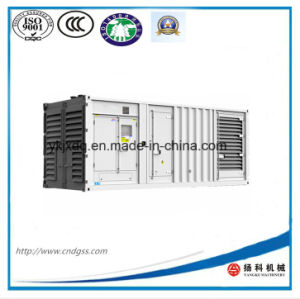 20FT Container Cummins 600kw/750kVA Soundproof Diesel Generator pictures & photos