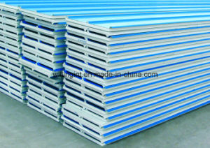 Lightweight EPS Cement Sandwich Partition Wall Panel Machine/Equipment for Colored Steel Wall Panel pictures & photos