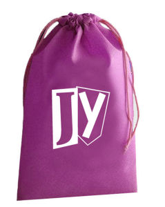 Custom Printed Polyester Waterproof Drawstring Bag Backpack (LJ-359)