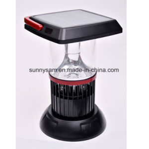 6 LED Portable Hand Crank Torch Light Solar Camping Lantern pictures & photos