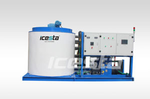 Icesta Air-Cooled Flake Ice Machine (15TN/24HR) pictures & photos