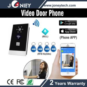 Smart Phone WiFi Wireless Video Door Phone with Card Reader pictures & photos