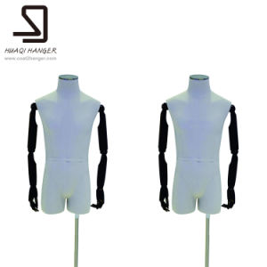 White Wooden Arms Torso, Half Body Male Mannequins pictures & photos