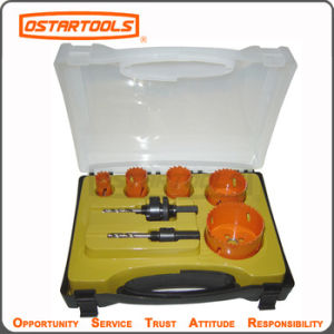 Bi-Metal and High Speed Steel HSS Hole Saw Set Hole Cutter Kit pictures & photos