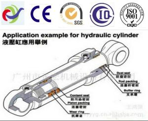 Machinery Spare Parts Engineering Oil Cylinder