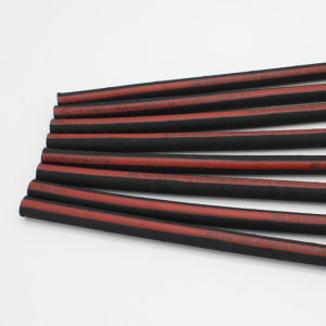 Two Wire Braided Hydraulic Hose High Pressure in Black pictures & photos