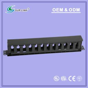 Plastic Cable Management 1 U pictures & photos